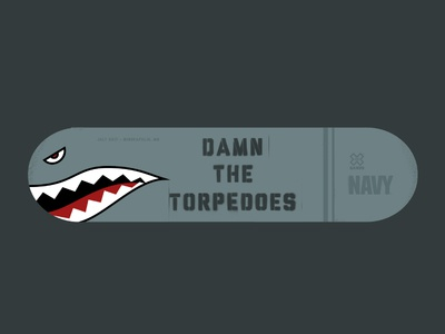 Damn the Torpedoes Skate Deck