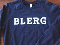 A Blerg fleece