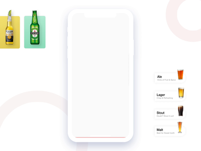 Beerman Inc. (Scan to find your Beer) interactions interaction design uiux scanner search scanning finder beer can interaction dribbble ios ux design ui