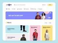 Clothing eCommerce Shop Webpage