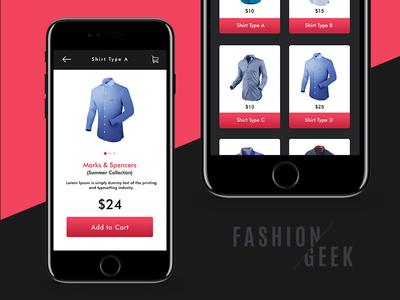 Fashion App UI (Link in the Description)