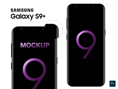 Samsung Galaxy S9+   Mockup android mockup s9 s9plus galaxy samsung