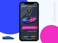 Lamborghini Mobile App Concept