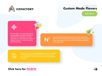 Landing Page Exploration (Ice Cream Factory)