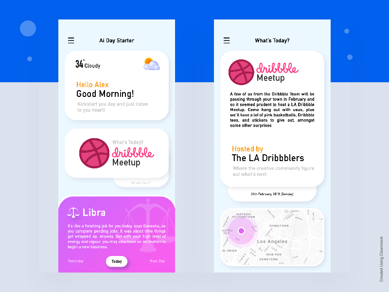 AI Assistant App Concept by Ronnie🎖 on Dribbble
