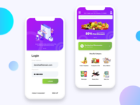 Grocery Ordering App Concept