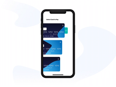 Debit Card Payment Interaction uiuxdesign trend payments payment interaction micro interaction interaction ios dribbble app ux design ui