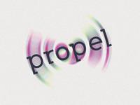 Propel Brand Reversed