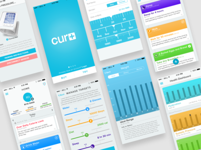 Curo Healthcare App android iphone ios app mobile app healthcare curo