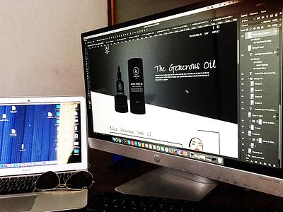 Cosmetic Product Web UI , Branding beauty 2017 ifocus logo branding website girl product cosmetic