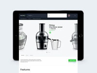 Elkjøp prototype — Product Page
