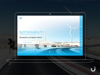 Clean Energy Website - Free UI download