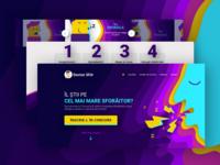 Vivid Colors Landing Page