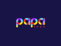 Papa Toys - Vivid Colors Logo