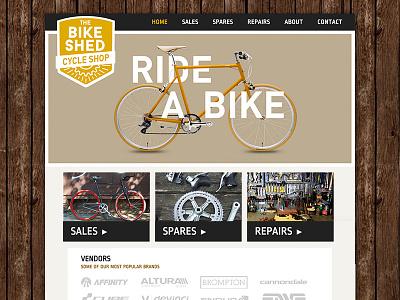 The Bike Shed Website