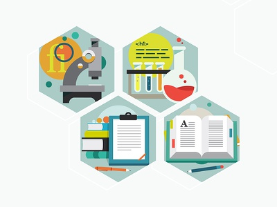 Type Lab Icons type website illustration chemical book typography graphics lab science icons