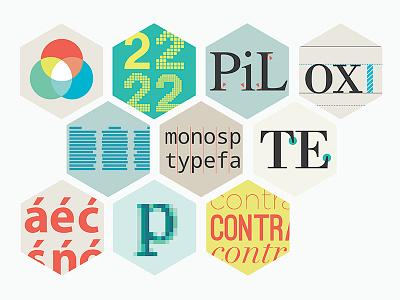 Type Lab Icons diagram spacing rgb pixels anatomy type website illustration typography graphics icons