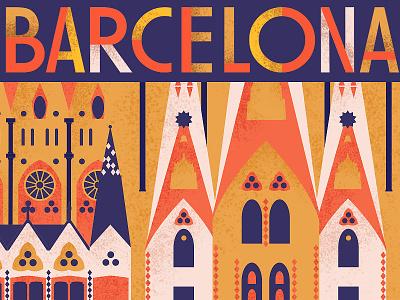Sagrada Família, Barcelona europe gaudi towers sagrada familia destination travel architecture spain cathedral barcelona