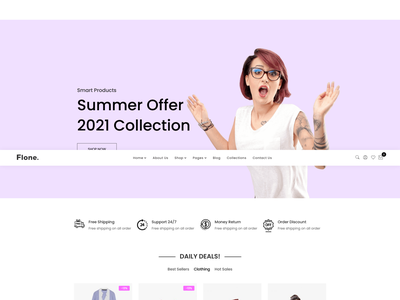 Flone   Minimal WooCommerce WordPress Theme xmas woocommerce valentine responsive modern minimalist jewelry furniture fashion elementor ecommerce clothing clean accessories