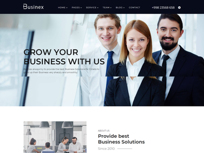 Businex   Corporate Business HTML Template startup investments financial finance enterprise digital creative business creative corporate html consulting consultancy business corporate business agency advising