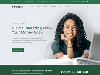 Consultix   Investment Company Bootstrap 5 Template modern investor investment income tax financial finance creative consulting consulting html consultant consultancy clean bootstrap 5 advisor