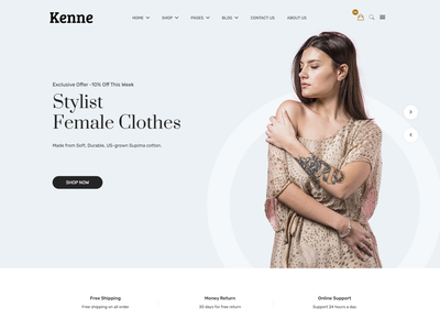 Kenne   Fashion Store HTML Template shopping shop shoes responsive html online store modern minimal html html template handbags fashion elegant clothing clean bags apparel
