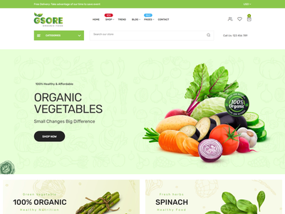 Gsore   Grocery and Organic Food Shop Shopify Theme vegetable store shopify theme shopify template shopify sections shopify responsive shopify ecommerce template organic shop organic life organic food shopify theme natural modern grocery fruits fresh farm