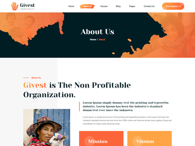 Givest - Charity & Fundraising Vue Nuxt JS Template vue charity js web template responsive charity  web template bootstrap vue nuxt js template vuejs charity website template charity vue nuxt js web template
