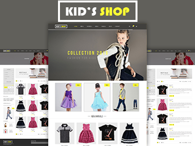 Kids Shop – eCommerce HTML5 Template