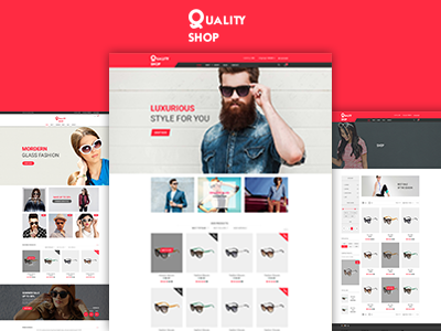 QualityShop – New eCommerce Bootstrap Template