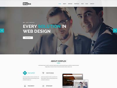 Drubo – Multipurpose HTML Template $5.00   corporate site clean templates clean  creative clean business web