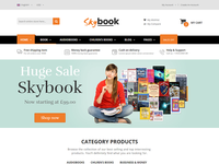 Skybook - Book Shop eCommerce Template