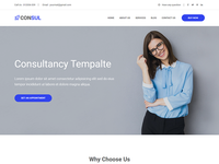 Consulting Business HTML Template
