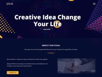 Pixal - Creative Multipurpose Template
