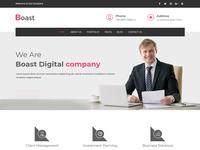 Boast - Corporate WordPress Theme