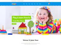 JuniorHome - Day Care & Kindergarten School Bootstrap4 Template
