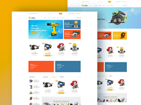Jantrik - Bootstrap4 Template for Tools, Equipment Store