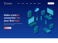 Voopo - VOIP, Telecom And Cloud Services Template