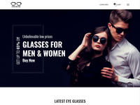 Chasmish - Glasses eCommerce Bootstrap 4 Template