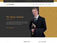 Personal Lawyer Bootstrap4 Template