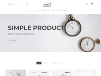 Minimalist WooCommerce WordPress Theme