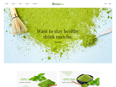 Matcha eCommerce Bootstrap4 Template