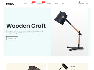 Parlo – eCommerce Bootstrap 4 Template