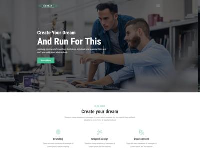 Karbar   Multipurpose Bootstrap 4 Template