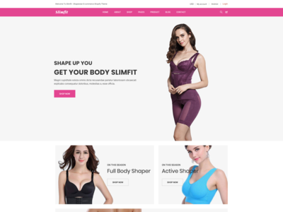 Slimfit   Shapewear Ecommerce Shopify Theme