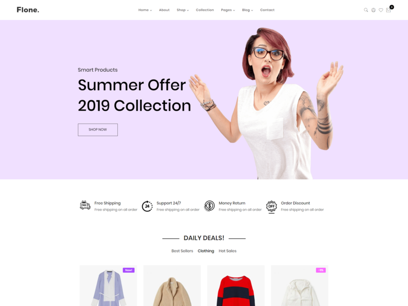 Flone – Minimal WooCommerce WordPress Theme html5 wordpress woocommerce store woocommerce responsive office furniture modern minimalist jewelry furniture fashion elementor ecommerce clothing clean accessories