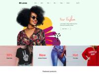 Lanes   fashion store html template