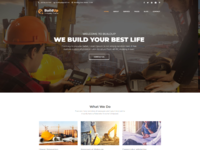 Buildup   construction agency html template
