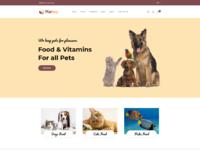 Marten   pet food  pet shop  animal care shopify theme