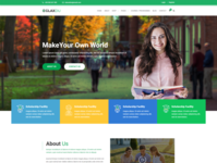 Glaxdu   Education HTML Template